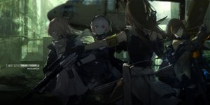 Rating: Safe Score: 174 Tags: anthropomorphism girls_frontline group m16a1_(girls_frontline) m4a1_(girls_frontline) m4_sopmod_ii_(girls_frontline) st_ar-15_(girls_frontline) swd3e2 User: RyuZU