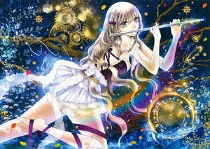 Rating: Safe Score: 40 Tags: flute instrument original scan yuki_mami User: mattiasc02