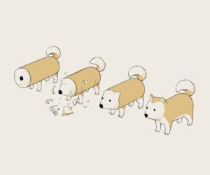 Rating: Safe Score: 42 Tags: animal avogado6 dog original User: otaku_emmy