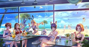 Rating: Safe Score: 122 Tags: akagi_(kancolle) animal anthropomorphism atago_(kancolle) ball beach bikini bird blonde_hair blue_eyes boat breasts brown_eyes brown_hair clouds drink eyepatch food fruit group headband hibiki_(kancolle) horns ice_cream kaga_(kancolle) kantai_collection kashima_(kancolle) loli long_hair navel northern_ocean_hime pcw ponytail purple_eyes purple_hair rensouhou-chan ryuujou_(kancolle) seaport_hime shimakaze_(kancolle) short_hair sky swimsuit tagme_(character) tatsuta_(kancolle) tenryuu_(kancolle) tree twintails umbrella water white_hair yellow_eyes yuubari_(kancolle) User: RyuZU