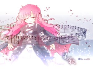 Rating: Safe Score: 26 Tags: dress etogami_kazuya hijiri_byakuren long_hair music pink_hair touhou User: Tensa