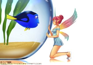 Rating: Safe Score: 39 Tags: animal blush dory dress erylia fairy finding_dory finding_nemo fish mathias_leth original pink_hair pointed_ears ponytail red_eyes water watermark wings User: gnarf1975