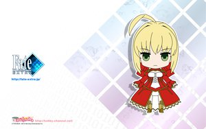 Rating: Safe Score: 17 Tags: blonde_hair chibi fate/extra fate_(series) fate/stay_night green_eyes nero_claudius_(fate) type-moon uniform User: w7382001