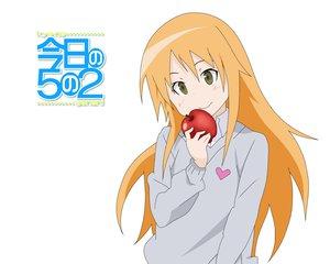 Rating: Safe Score: 9 Tags: apple food fruit koizumi_chika kyou_no_go_no_ni User: jjj14