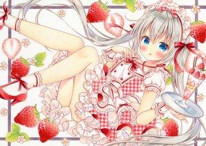 Rating: Safe Score: 49 Tags: dress food fruit ice_cream lolita_fashion long_hair original puu_(kari---ume) strawberry twintails User: BattlequeenYume
