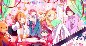Rating: Safe Score: 39 Tags: aqua_eyes barefoot blonde_hair bondage brown_eyes eromanga-sensei gray_hair group hoodie izumi_masamune izumi_sagiri japanese_clothes jinno_megumi loli long_hair mask orange_hair ore_no_imouto_ga_konna_ni_kawaii_wake_ga_nai pink_eyes ponytail pot-palm seifuku senju_muramasa short_hair skirt teddy_bear tie yamada_elf User: RyuZU