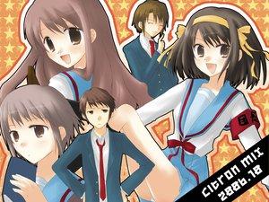 Rating: Safe Score: 23 Tags: asahina_mikuru koizumi_itsuki kyon male nagato_yuki suzumiya_haruhi suzumiya_haruhi_no_yuutsu User: Oyashiro-sama