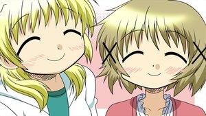 Rating: Safe Score: 12 Tags: hidamari_sketch miyako yuno User: HawthorneKitty