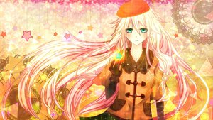 Rating: Safe Score: 90 Tags: chaperu_(mukuone) gloves green_eyes hat ia vocaloid User: FormX