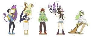 Rating: Safe Score: 38 Tags: chandelure cheren liepard pokemon reuniclus sei_(shinkai_parallel) stoutland stunfisk touko_(pokemon) touya User: FormX