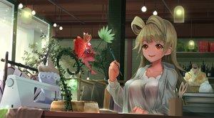 Rating: Safe Score: 36 Tags: 2girls fairy flowers kousaka_honoka love_live!_school_idol_project minami_kotori orein red_eyes User: BattlequeenYume