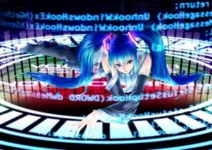 Rating: Safe Score: 24 Tags: hatsune_miku twintails vocaloid User: HawthorneKitty