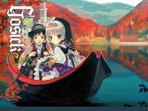 Rating: Safe Score: 38 Tags: autumn gosick kujou_kazuya takeda_hinata victorique_de_broix water User: manroth124