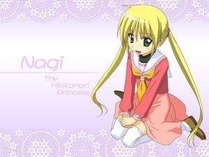 Rating: Safe Score: 8 Tags: blonde_hair green_eyes hayate_no_gotoku long_hair sanzenin_nagi school_uniform skirt thighhighs twintails User: 秀悟