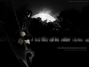 Rating: Safe Score: 44 Tags: black_eyes brown_hair long_hair moon night short_hair stars thighhighs tree vampire_knight vector weapon yuuki_cross User: mikucchi
