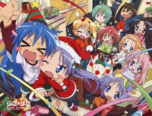 Rating: Safe Score: 15 Tags: christmas group hiiragi_kagami hiiragi_tsukasa izumi_konata lucky_star takara_miyuki User: Oyashiro-sama