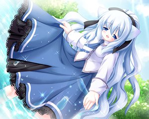 Rating: Safe Score: 7 Tags: animal_ears blue_eyes blue_hair catgirl dress long_hair neko_kawaigari_klein_inuneko_byouin_shinsatsuchuu norma User: 秀悟
