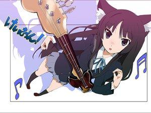Rating: Safe Score: 27 Tags: akiyama_mio animal_ears catgirl guitar instrument jpeg_artifacts k-on! User: HawthorneKitty