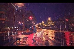 Rating: Safe Score: 44 Tags: animal building cat dress night original rain scenic signed summer_dress umbrella water yomochi User: FormX