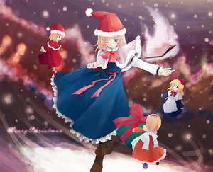 Rating: Safe Score: 12 Tags: alice_margatroid blonde_hair blue_eyes book boots christmas doll dress hat jpeg_artifacts mage ribbons santa_hat shanghai_doll short_hair snow touhou User: Oyashiro-sama