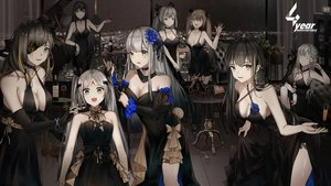 Rating: Safe Score: 60 Tags: ak12_(girls_frontline) anthropomorphism black_hair breasts brown_hair building choker city cleavage dress elbow_gloves elisa_(girls_frontline) eyepatch flowers girls_frontline gloves gray_eyes gray_hair green_eyes group headdress hk416_(girls_frontline) instrument long_hair m16a1_(girls_frontline) m4a1_(girls_frontline) piano twintails ump-45_(girls_frontline) ump-9_(girls_frontline) wink yuuki_mix User: mattiasc02