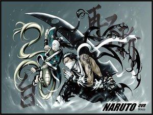 Rating: Safe Score: 28 Tags: all_male haku_(naruto) male mask momochi_zabuza naruto sword weapon User: Oyashiro-sama