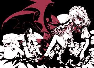 Rating: Safe Score: 78 Tags: izayoi_sakuya maid polychromatic remilia_scarlet sakurazawa_izumi touhou vampire User: konstargirl
