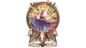 Rating: Safe Score: 78 Tags: alice_margatroid bai_qi-qsr book doll mage shanghai_doll touhou User: luckyluna