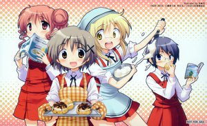 Rating: Safe Score: 0 Tags: akieda food hidamari_sketch hiro miyako sae scan yuno User: 秀悟