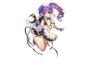 Rating: Safe Score: 67 Tags: aisha_(elsword) dress elsword long_hair maid photoshop purple_eyes purple_hair ribbons sukja twintails wand white User: luckyluna