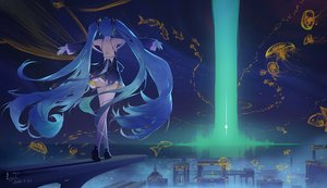 Rating: Safe Score: 40 Tags: hatsune_miku ly.t signed vocaloid User: Fepple