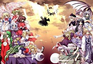 Rating: Safe Score: 22 Tags: animal_ears bunnygirl evil_eye_sigma flandre_scarlet foxgirl gengetsu group houraisan_kaguya izayoi_sakuya katana kazami_yuuka kirisame_marisa kitashirakawa_chiyuri konpaku_youmu maid mima mugetsu_(touhou) myon okazaki_yumemi parody reisen_udongein_inaba remilia_scarlet riviera saigyouji_yuyuko shinki sword touhou vampire weapon witch yagokoro_eirin yakumo_ran yakumo_yukari yumeko User: WhiteExecutor