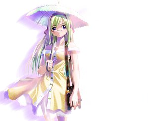 Rating: Safe Score: 3 Tags: tagme umbrella white User: Oyashiro-sama