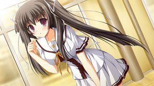 Rating: Safe Score: 73 Tags: black_hair fortissimo//akkord:bsusvier game_cg ooba_kagerou school_uniform suzushiro_nagisa twintails User: Wiresetc