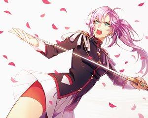 Rating: Safe Score: 105 Tags: aqua_eyes long_hair pink_hair revolutionary_girl_utena shoujo_kakumei_utena skirt sword tagme tagme_(artist) tenjou_utena weapon User: w7382001