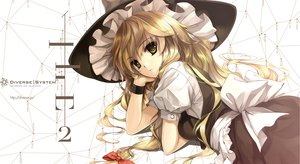 Rating: Safe Score: 104 Tags: blonde_hair bow diverse_system dress hat kirisame_marisa misaki_kurehito touhou User: opai