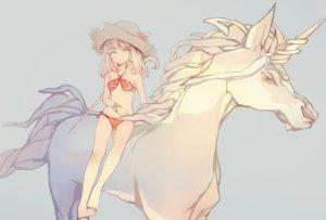 Rating: Safe Score: 84 Tags: animal bikini final_fantasy final_fantasy_xiv hat horse swimsuit unicorn xiaohan6th User: FormX