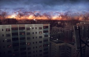 Rating: Safe Score: 203 Tags: building city clouds jpeg_artifacts nobody original scenic sky sunset yu-kun User: Flandre93
