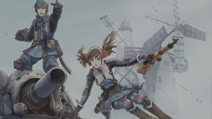 Rating: Safe Score: 63 Tags: alicia_melchiott gun valkyria_chronicles weapon welkin_gunther User: maxgtmaster