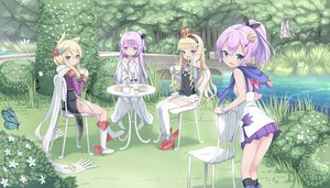 Rating: Safe Score: 36 Tags: aliasing anthropomorphism azur_lane group hms_unicorn_(azur_lane) javelin_(azur_lane) kimagure_blue loli queen_elizabeth_(azur_lane) warspite_(azur_lane) User: gnarf1975