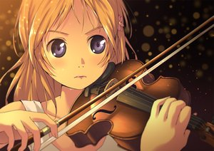 Rating: Safe Score: 64 Tags: akisorapx black_eyes blonde_hair instrument miyazono_kaori shigatsu_wa_kimi_no_uso violin User: Flandre93