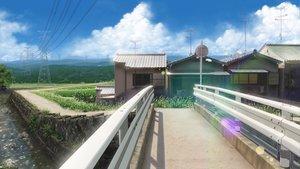 Rating: Safe Score: 147 Tags: building clouds grass isai_shizuka landscape original realistic scenic sky water User: Licran