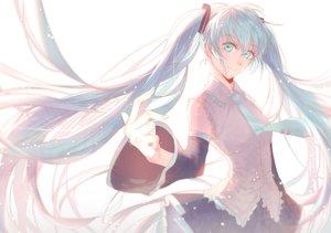 Rating: Safe Score: 35 Tags: aqua_hair blue_eyes blue_hair hatsune_miku long_hair twintails vocaloid User: humanpinka