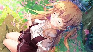 Rating: Safe Score: 48 Tags: game_cg hime-sama_love_life mikeou ruria_von_dina User: luckyluna