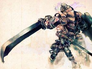 Rating: Safe Score: 119 Tags: armor original so-bin sword weapon User: BoobMaster