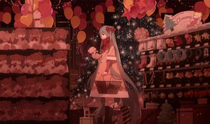 Rating: Safe Score: 26 Tags: christmas hatsune_miku teddy_bear vocaloid xiaonuo_(1906803064) User: FormX