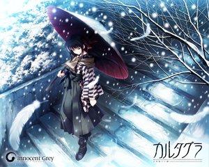 Rating: Safe Score: 34 Tags: cartagra feathers kouzuki_kazuna scarf simosi snow umbrella User: Oyashiro-sama
