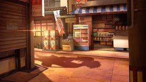 Rating: Safe Score: 75 Tags: building coca_cola drink food kiss male original scenic sho_(shoichi-kokubun) silhouette sunset User: mattiasc02