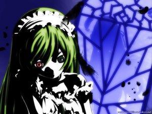 Rating: Safe Score: 20 Tags: bicolored_eyes doll rozen_maiden suiseiseki User: Oyashiro-sama