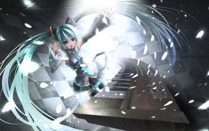 Rating: Safe Score: 24 Tags: hatsune_miku twintails vocaloid User: HawthorneKitty